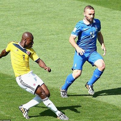 哥伦比亚3-0希腊 哥伦比亚大获全胜