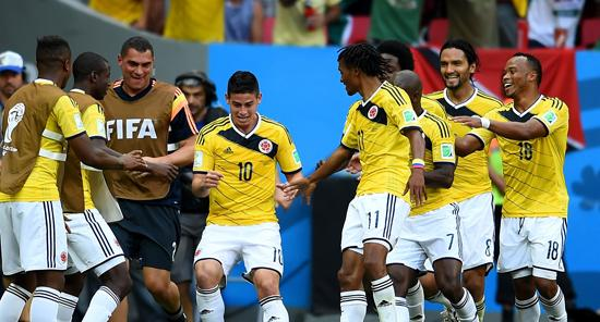 黑马!哥伦比亚震惊世界 超队史最佳不再是梦