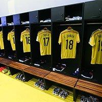 哥伦比亚球员更衣室一览