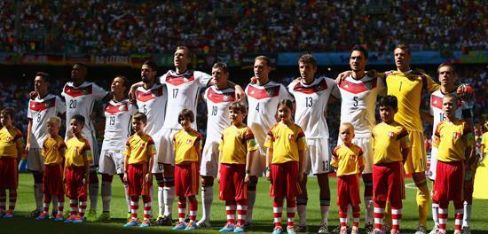 德国国家队的第100场世界杯