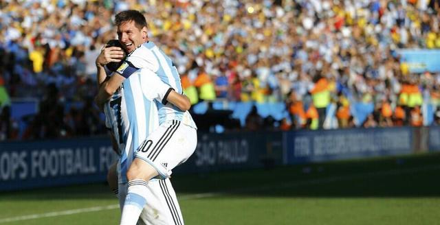 世界杯-阿根廷加时1-0胜瑞士 梅西助天使破门