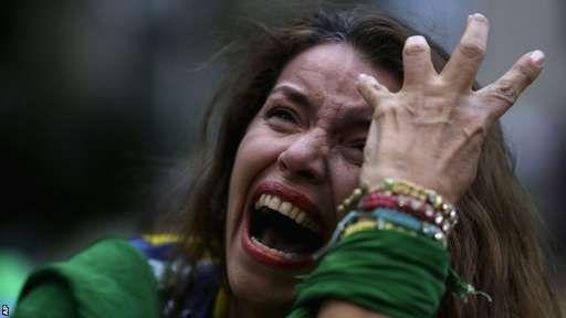 内马尔?借口! 巴西惨死于两亿人集体焦虑症