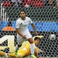 阿尔及利亚贾布无人盯防破门