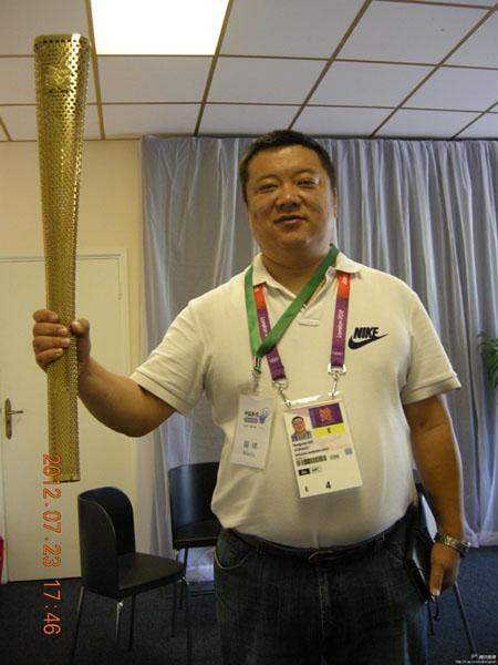 青岛资深体育记者-马洪文