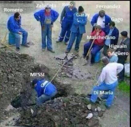 阿根廷赢球仍被吐槽:每个对手都能昂首离开