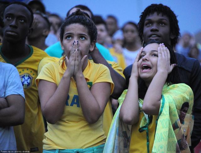巴西之家德国球迷搅局 德国进球之后压抑狂喜