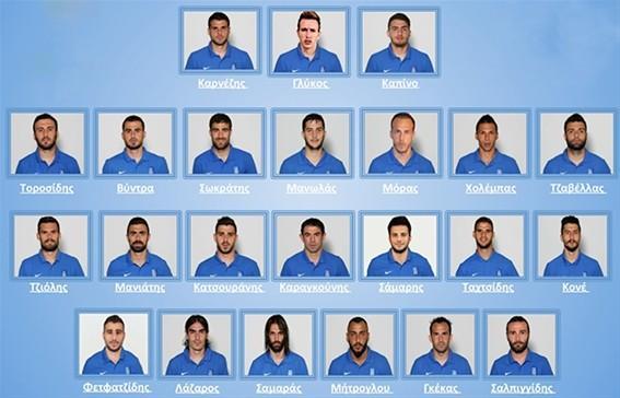 希腊公布23人世界杯名单 两大神话见证者入围
