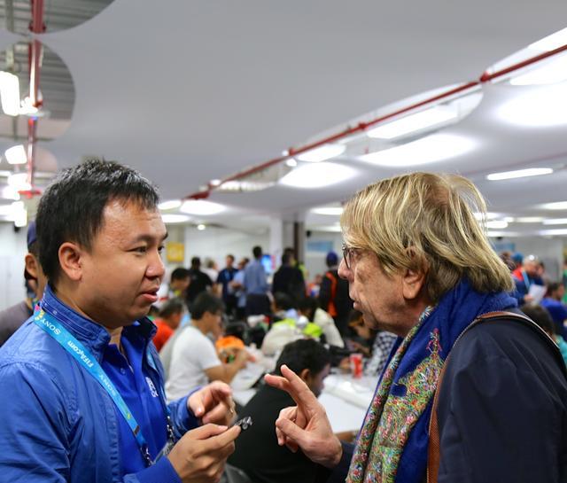 专访勒鲁瓦:祝佩兰好运 有机会就去中国执教