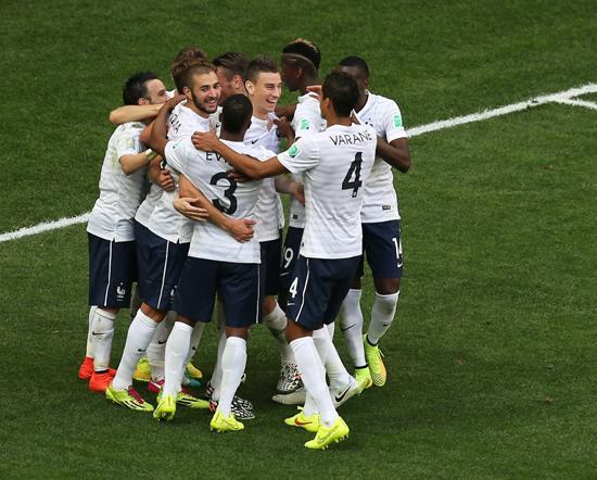 法国秀出世界杯最强进攻 荷兰巴西阿根廷叹服