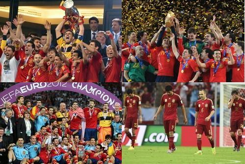 西班牙王朝之路:08崛起5年3冠 与巴萨同轨迹