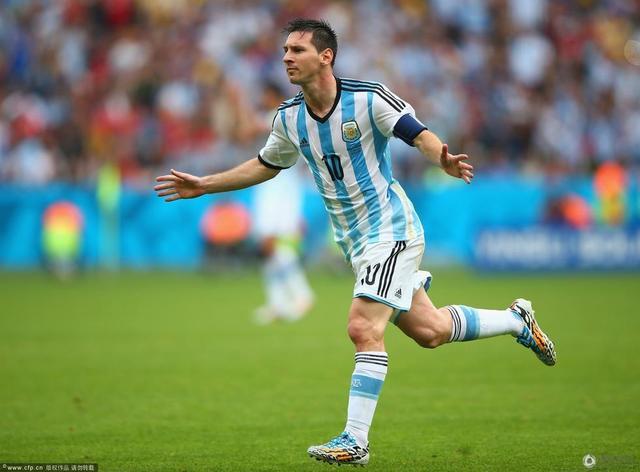 世界杯-阿根廷3-2尼日利亚携手出线 梅西2球