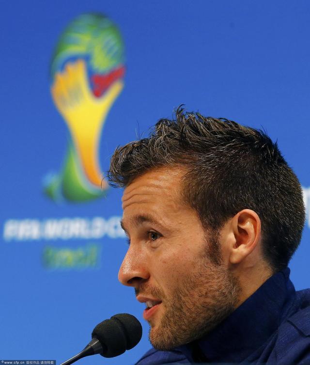 卡巴耶:缺阵无影响 坚信能在世界杯上走更远