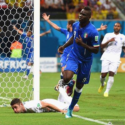 英格兰1-2意大利 三狮军团出师不利