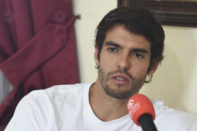 腾讯专访卡卡:巴西能进决赛 婚后老婆最重要