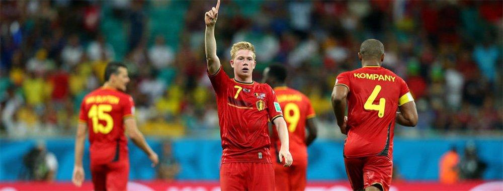 比利时2-1美国晋级八强