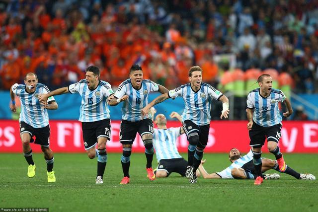 阿根廷1神迹延续84年 5届世界杯半决赛不败