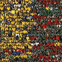 墨西哥逼平五星巴西-两国球迷和谐相容