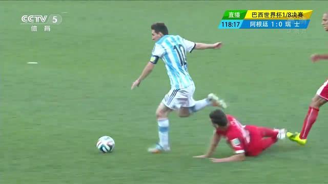 阿根廷加时绝杀瑞士 全场进球精彩瞬间(组图)