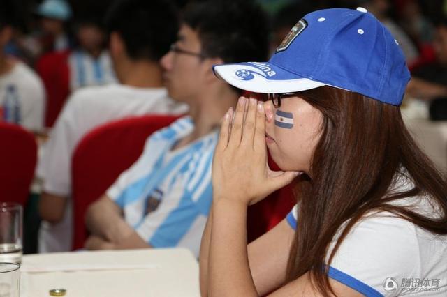 中国阿迷为阿根廷哭泣 称永远忠于蓝白间条衫