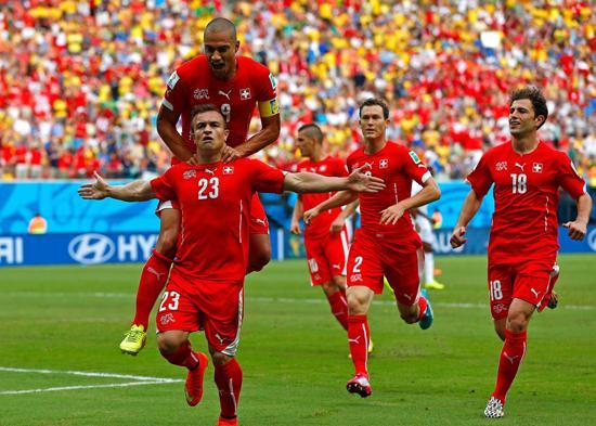 斩洪都拉斯!瑞士复仇晋级 欧洲终于扬眉吐气