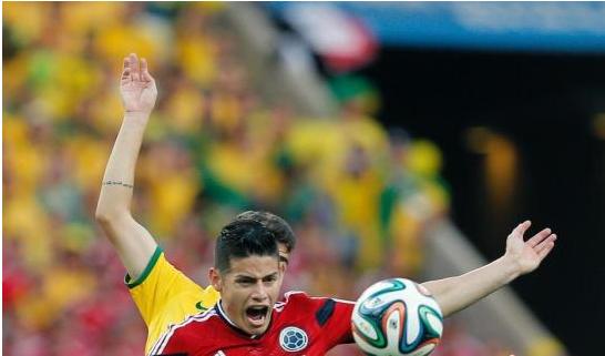 佩克尔曼:J罗世界杯新星 他一直在追寻梦想