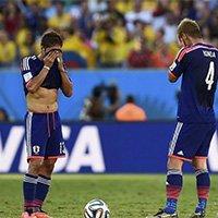 日本遭淘汰球员悲伤不已