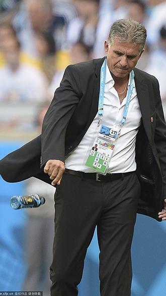 奎罗斯:裁判欠伊朗一个点球 梅西是世界最佳