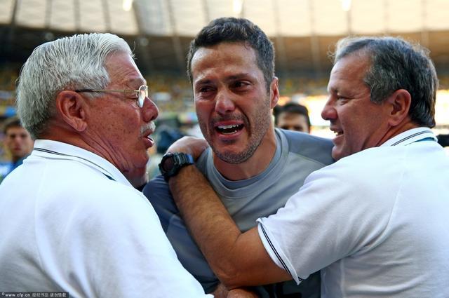 塞萨尔:再踢点球会犯心脏病 巴西需要这胜利