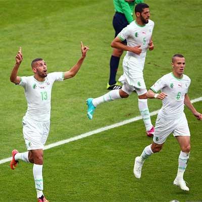 韩国2-4阿尔及利亚 亚洲4强1胜难求