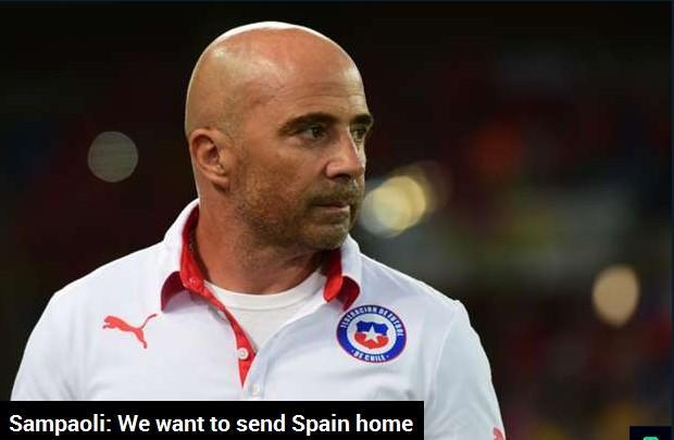 智利主帅扬言送西班牙回家 比达尔出战仍存疑