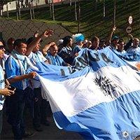 阿根廷球迷声势力压瑞士