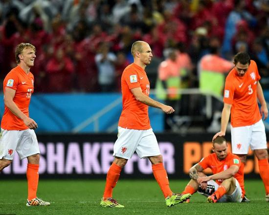 荷兰错失复仇德国良机 橙衣军仍将是无冕之王