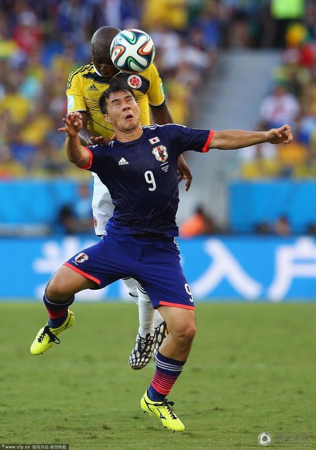 冈崎慎司或告别世界杯 日本主力阵容面临洗牌