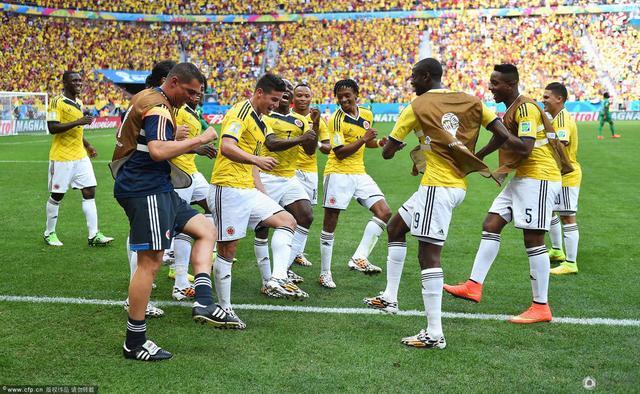 世界杯-哥伦比亚2-1科特迪瓦 2连胜晋级在望