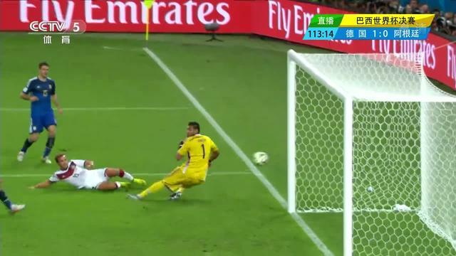德国1-0阿根廷 格策金子般进球全回顾(组图)