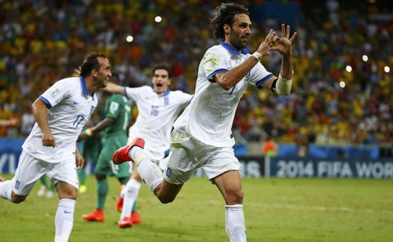 萨马拉斯:点球对希腊至关重要 胜利归于全队