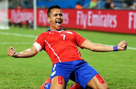 2分钟2球!桑切斯传射 智利2-0领先澳大利亚