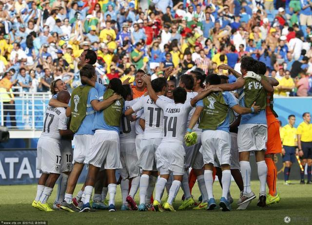 乌拉圭50场纪念碑险胜 沙鲁阿利爪精神再现