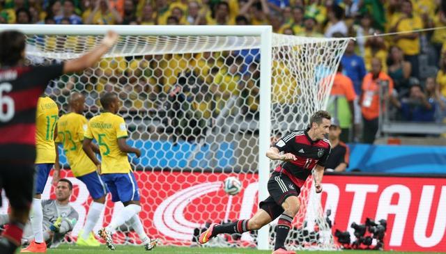 世界杯全纪录球队篇:德国火力猛 巴西尴尬