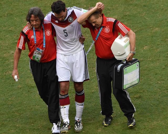 德国进球功臣伤势无大碍 对加纳有望继续首发