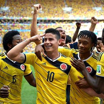 哥伦比亚2-1力克科特迪瓦 抢占出线先机