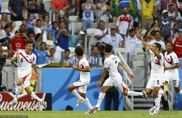 世界杯-冷门爆出!哥斯达黎加3-1逆转乌拉圭