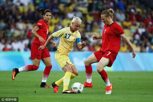 女足-德国2-1胜瑞典首夺金 马罗赞破门造乌龙