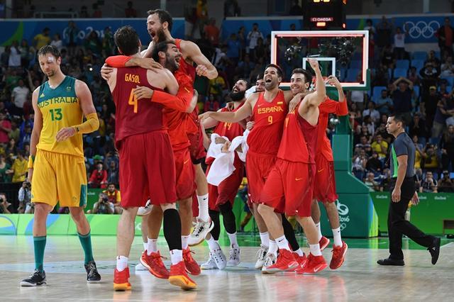 男篮-西班牙1分险胜澳洲摘铜 加索尔砍31+11