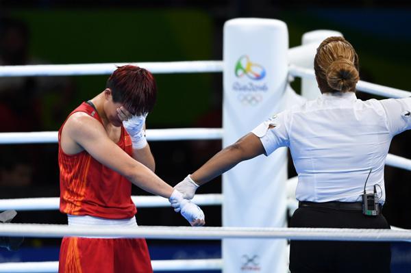 尹军花:遗憾未能扛起女拳大旗 不会放弃拳击