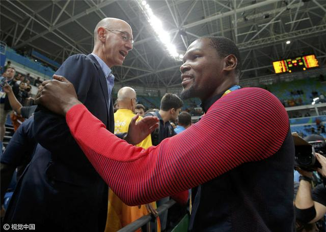 杜兰特:夺金并无特别感受 难忘里约奥运