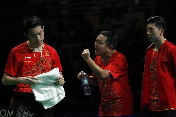 刘国梁:许昕技术特点难得 希望他成队伍核心
