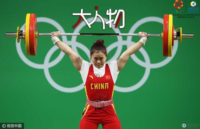 【大人物】邓薇:谁说爱美的女神不能练举重?