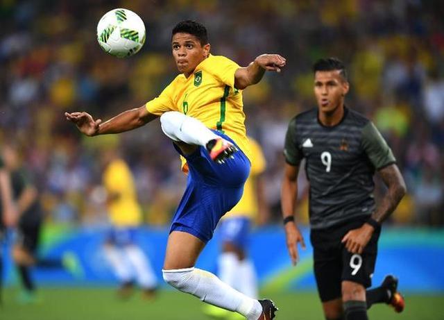 巴西加冕首个奥运男足冠军 内马尔一战封神!
