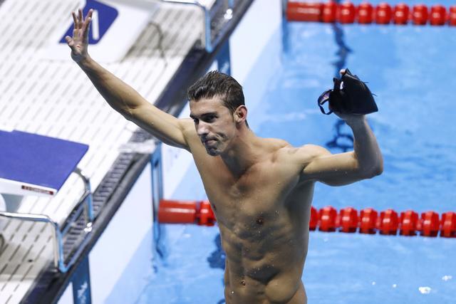 奥运第22金!菲尔普斯200米混夺冠 汪顺摘铜
